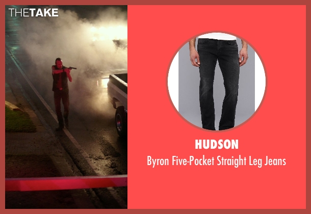 Hudson black jeans from The Best of Me seen with Rob Mello (Ted Cole)