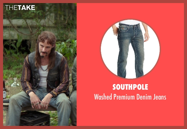 Southpole blue jeans from The Best of Me seen with Rob Mello (Ted Cole)