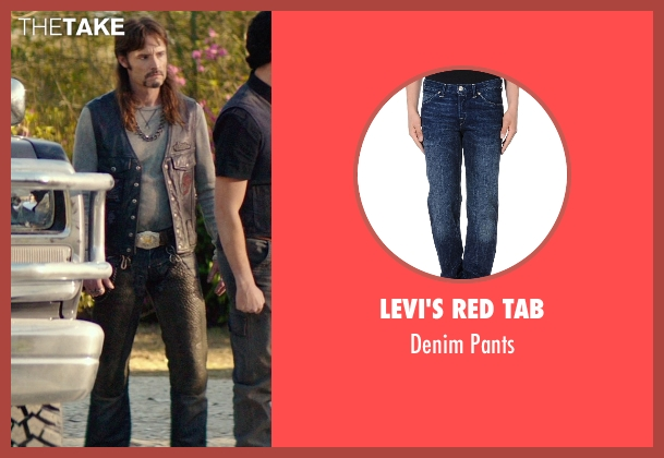 Levi's Red Tab blue pants from The Best of Me seen with Rob Mello (Ted Cole)
