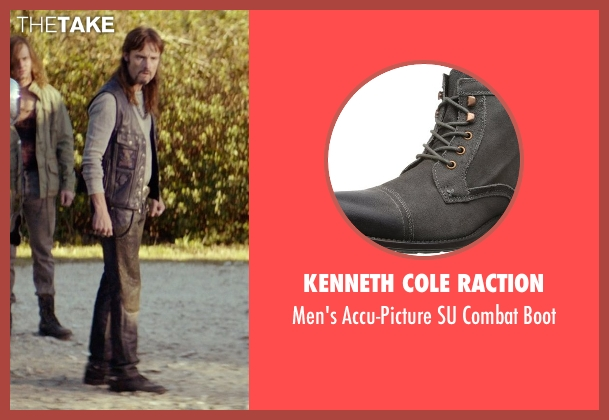 Kenneth Cole Raction gray boot from The Best of Me seen with Rob Mello (Ted Cole)