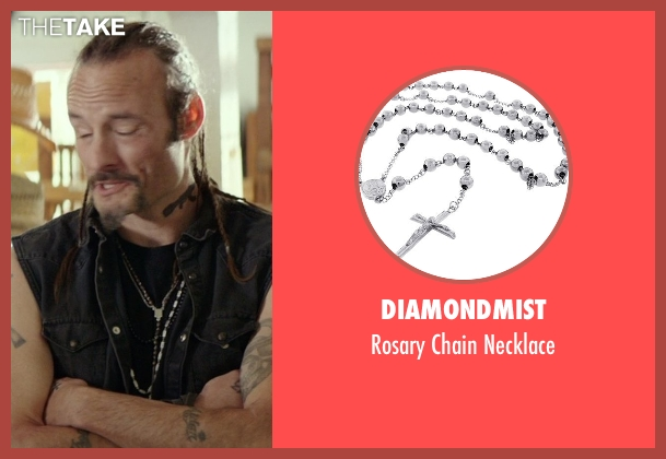 DiamondMist gray necklace from The Best of Me seen with Rob Mello (Ted Cole)