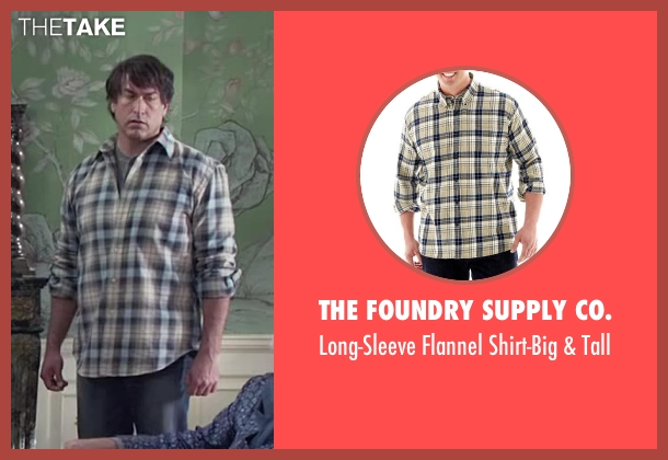 The Foundry Supply Co. beige tall from Dumb and Dumber To seen with Rob Riggle (Travis)