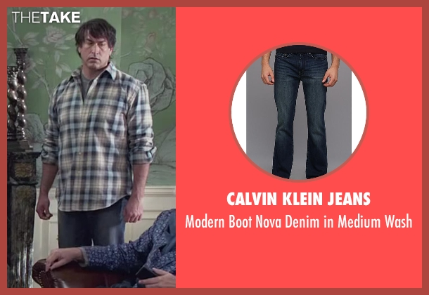 Calvin Klein Jeans blue wash from Dumb and Dumber To seen with Rob Riggle (Travis)