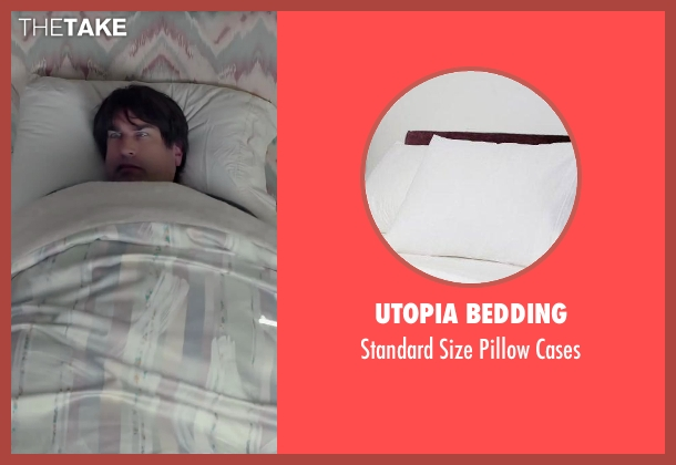 Utopia Bedding cases from Dumb and Dumber To seen with Rob Riggle (Travis)