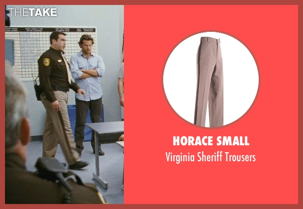 Horace Small beige trousers from The Hangover seen with Rob Riggle (Officer Franklin)