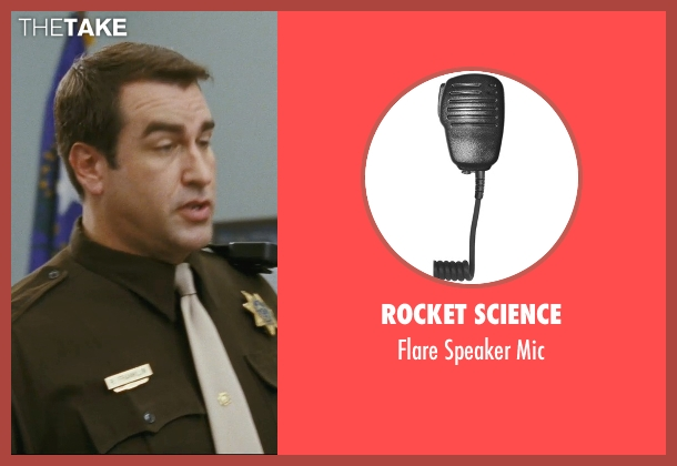 Rocket Science mic from The Hangover seen with Rob Riggle (Officer Franklin)