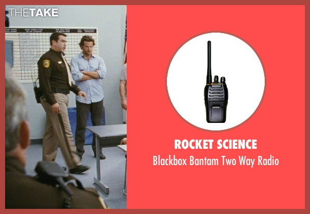 Rocket Science radio from The Hangover seen with Rob Riggle (Officer Franklin)
