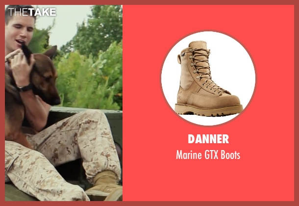 Danner brown boots from Max seen with Robbie Amell (Kyle Wincott)