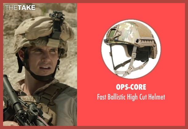 Ops-Core helmet from Max seen with Robbie Amell (Kyle Wincott)