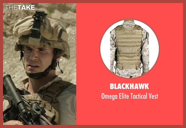 BlackHawk vest from Max seen with Robbie Amell (Kyle Wincott)