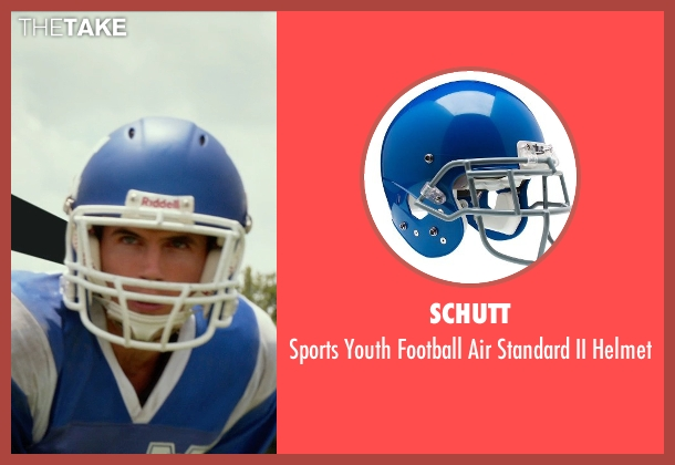 Schutt helmet from The DUFF seen with Robbie Amell (Wesley)