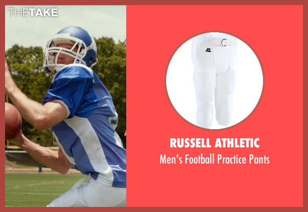 Russell Athletic white pants from The DUFF seen with Robbie Amell (Wesley)