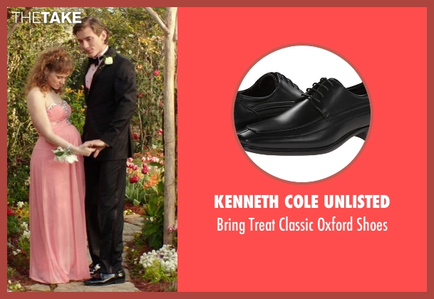 Kenneth Cole Unlisted black shoes from The Best of Me seen with Robby Rasmussen (Bobby Cole)