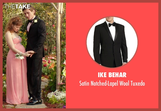 Ike Behar black tuxedo from The Best of Me seen with Robby Rasmussen (Bobby Cole)