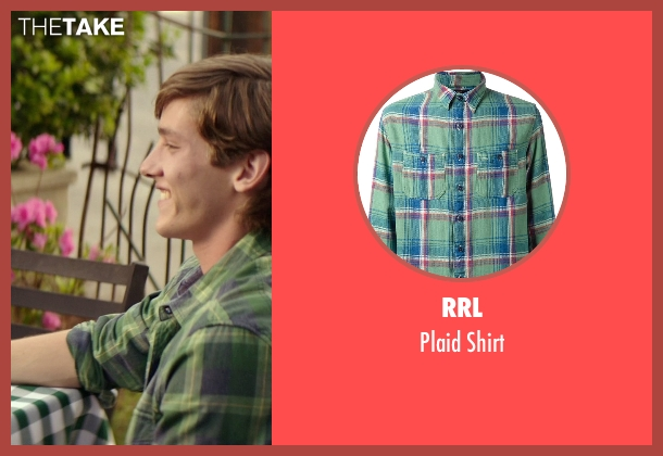 RRL green shirt from The Best of Me seen with Robby Rasmussen (Bobby Cole)