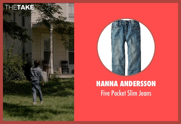 Hanna Andersson blue jeans from Sinister 2 seen with Robert Daniel Sloan (Dylan)