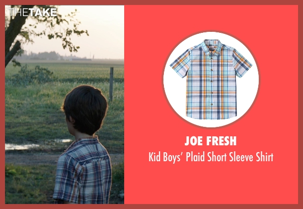 Joe Fresh blue shirt from Sinister 2 seen with Robert Daniel Sloan (Dylan)