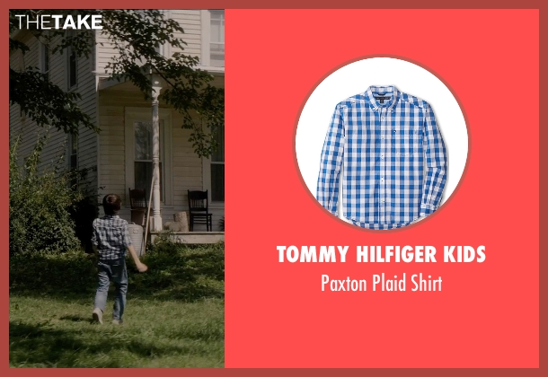 Tommy Hilfiger Kids blue shirt from Sinister 2 seen with Robert Daniel Sloan (Dylan)