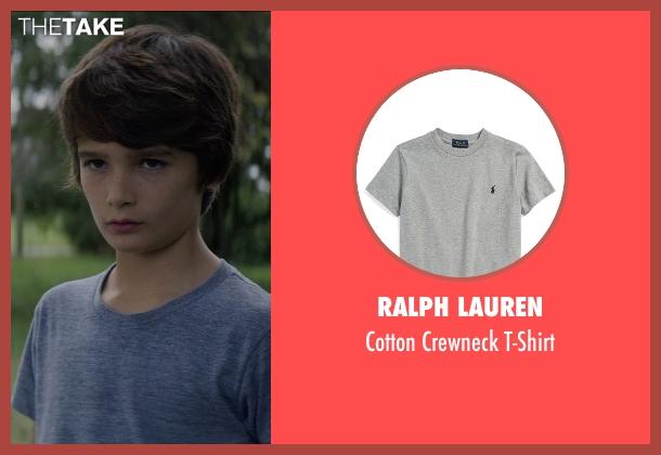 Ralph Lauren gray t-shirt from Sinister 2 seen with Robert Daniel Sloan (Dylan)