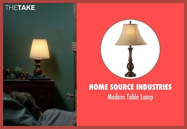 Home Source Industries lamp from Sinister 2 seen with Robert Daniel Sloan (Dylan)