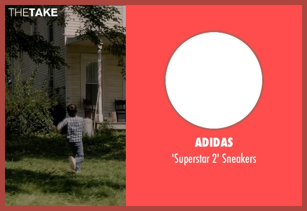 Adidas white sneakers from Sinister 2 seen with Robert Daniel Sloan (Dylan)