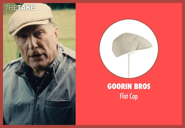 Goorin Bros beige cap from The Judge seen with Robert Duvall (Judge Joseph Palmer)