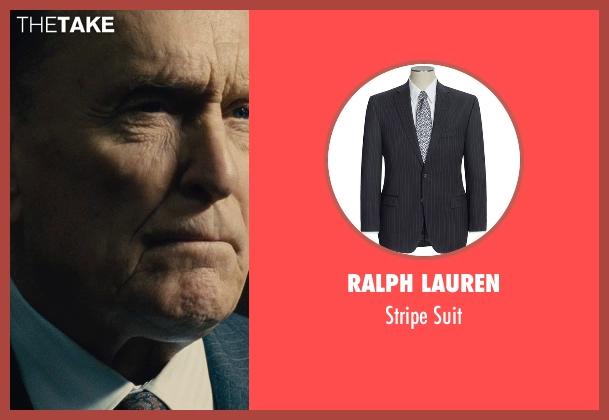 Ralph Lauren black suit from The Judge seen with Robert Duvall (Judge Joseph Palmer)