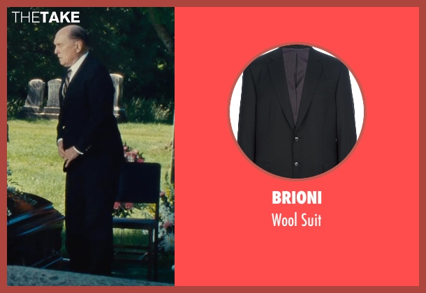 Brioni black suit from The Judge seen with Robert Duvall (Judge Joseph Palmer)
