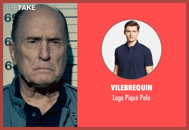 Vilebrequin blue polo from The Judge seen with Robert Duvall (Judge Joseph Palmer)
