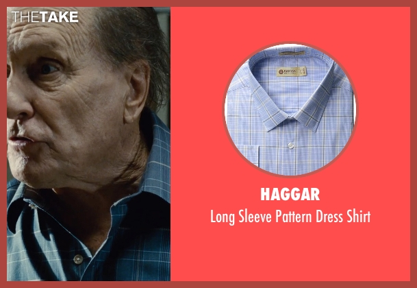 Haggar blue shirt from The Judge seen with Robert Duvall (Judge Joseph Palmer)