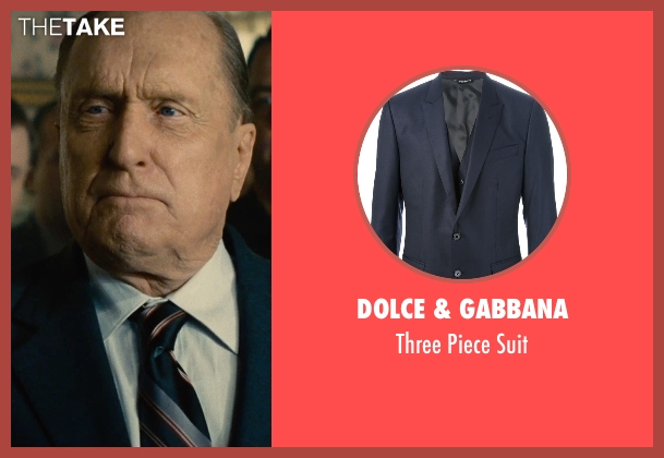 Dolce & Gabbana blue suit from The Judge seen with Robert Duvall (Judge Joseph Palmer)
