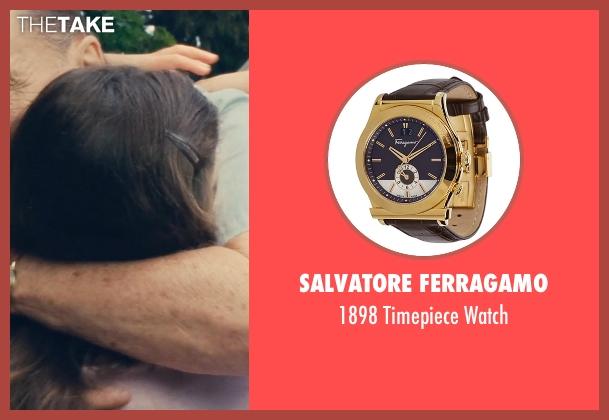 Salvatore Ferragamo gold watch from The Judge seen with Robert Duvall (Judge Joseph Palmer)