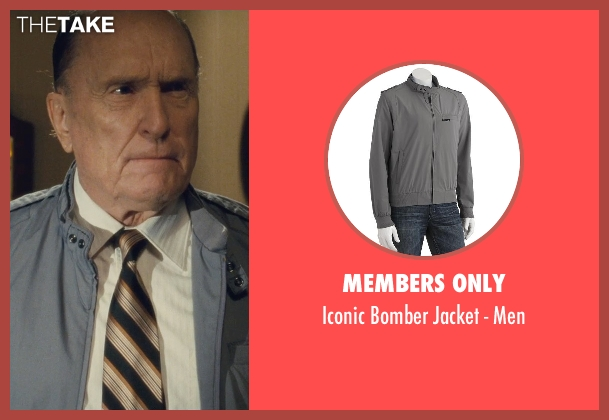 Members Only gray men from The Judge seen with Robert Duvall (Judge Joseph Palmer)