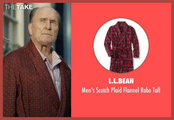 L.L.Bean red tall from The Judge seen with Robert Duvall (Judge Joseph Palmer)