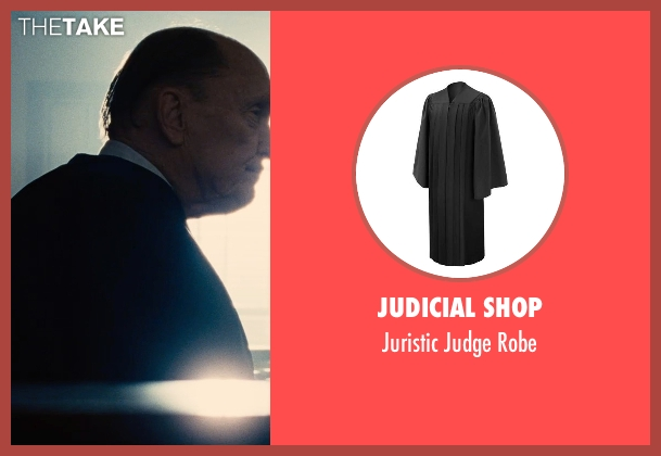 Judicial Shop robe from The Judge seen with Robert Duvall (Judge Joseph Palmer)