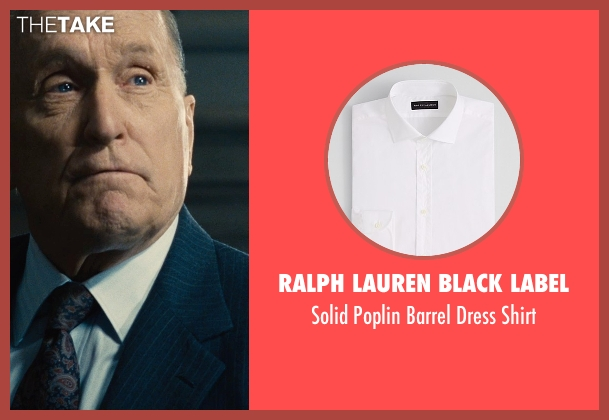 Ralph Lauren Black Label white shirt from The Judge seen with Robert Duvall (Judge Joseph Palmer)