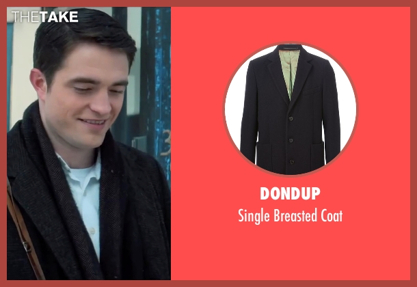 Dondup black coat from Life seen with Robert Pattinson (Dennis Stock)
