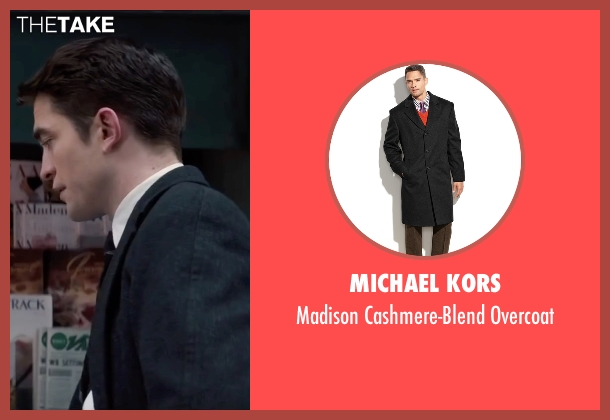 Michael Kors black overcoat from Life seen with Robert Pattinson (Dennis Stock)