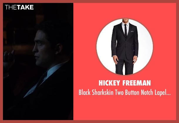 Hickey Freeman black suit from Life seen with Robert Pattinson (Dennis Stock)