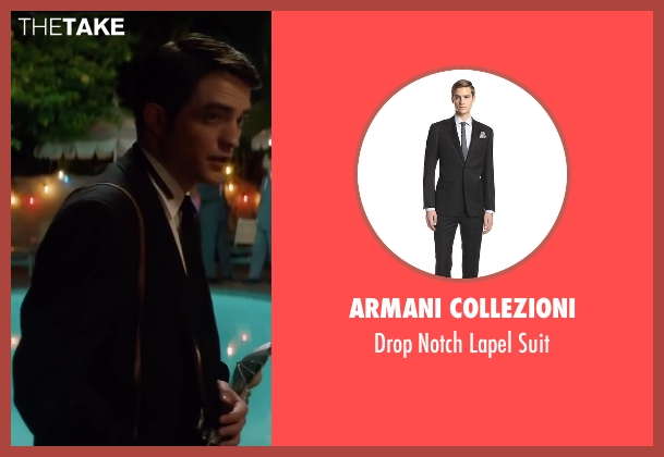 Armani Collezioni black suit from Life seen with Robert Pattinson (Dennis Stock)