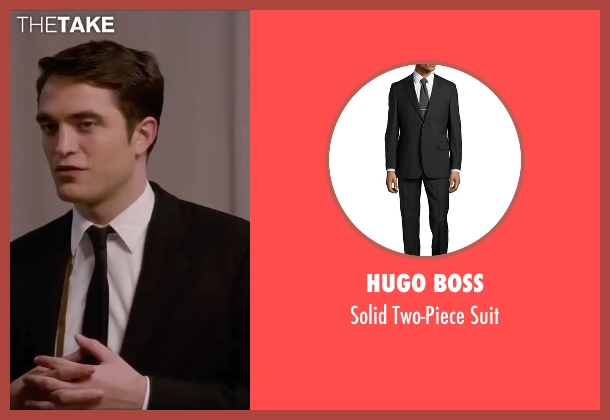 Hugo Boss black suit from Life seen with Robert Pattinson (Dennis Stock)