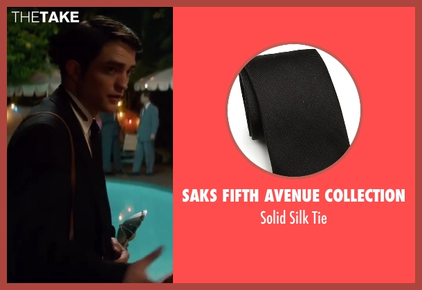 Saks Fifth Avenue Collection black tie from Life seen with Robert Pattinson (Dennis Stock)
