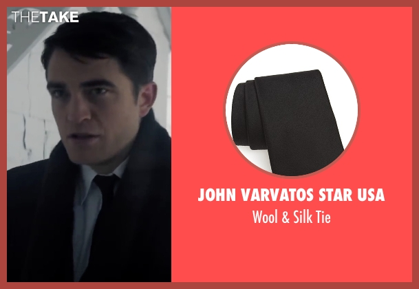 John Varvatos Star Usa black tie from Life seen with Robert Pattinson (Dennis Stock)
