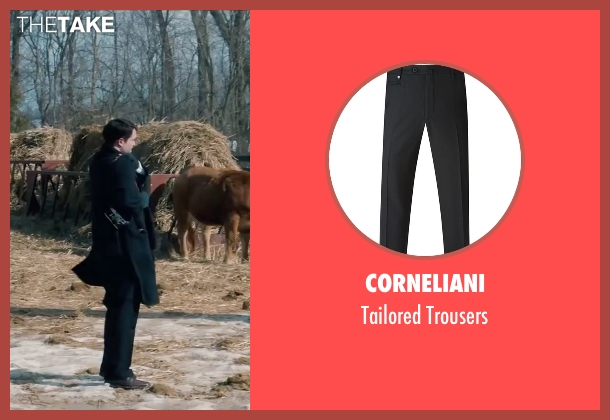 Corneliani black trousers from Life seen with Robert Pattinson (Dennis Stock)