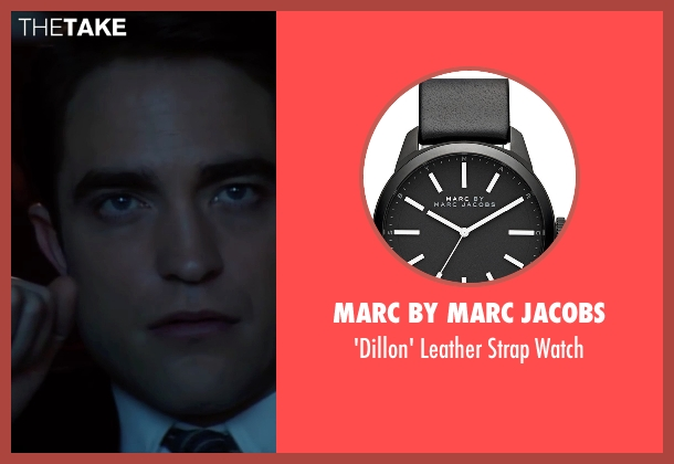 Marc By Marc Jacobs black watch from Life seen with Robert Pattinson (Dennis Stock)