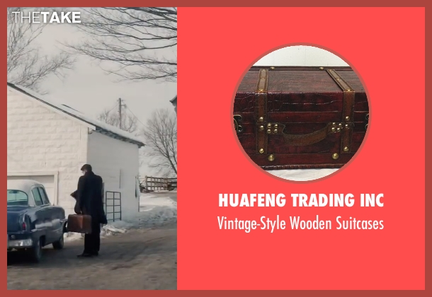 huafeng trading inc brown suitcases from Life seen with Robert Pattinson (Dennis Stock)