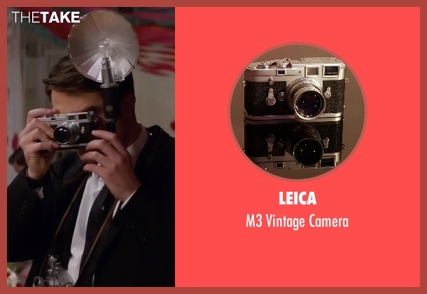 Leica camera from Life seen with Robert Pattinson (Dennis Stock)