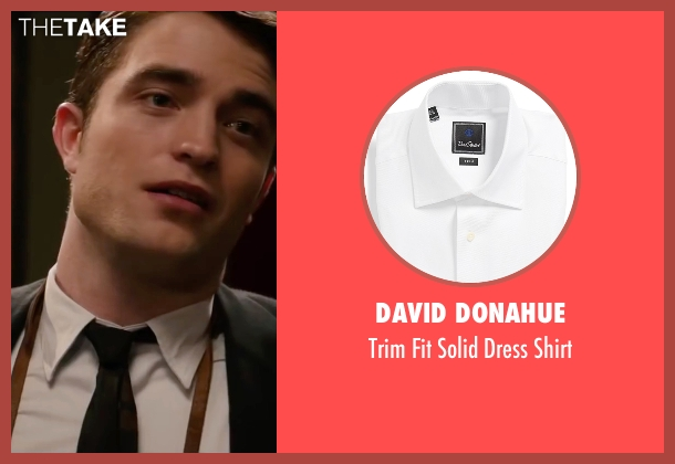 David Donahue white shirt from Life seen with Robert Pattinson (Dennis Stock)