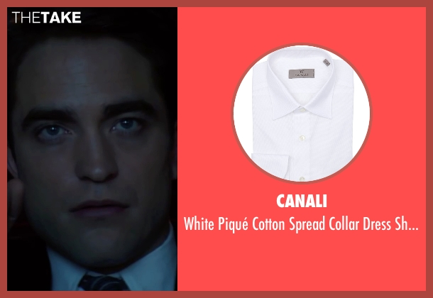 Canali white shirt from Life seen with Robert Pattinson (Dennis Stock)