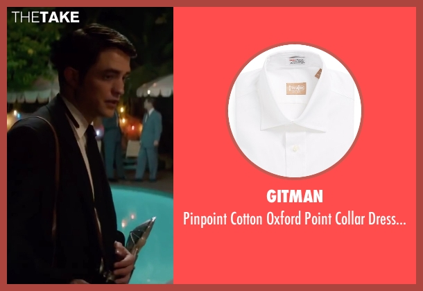 Gitman white shirt from Life seen with Robert Pattinson (Dennis Stock)